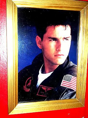 Quadro Quadretto Stampa Tom Cruise Top Gun Maverick