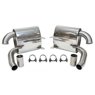Porsche 911 996 Carrera Topgear Loud Sports Tone Exhaust Silencers with Fit Kit