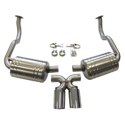 Porsche 987 Boxster Cayman 2005-2008 Direct Fit Topgear Sports Exhaust with Tips