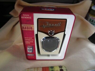 Fossil future-phonic AMFM 2 Band Radio Receiver Used in beautiful condition