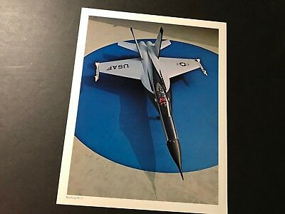 Northrop Yf-17 Fighter Photo Gem Mint!