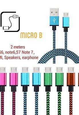 Micro Type-C Data Sync USB Charger Charging Cable For Samsung Galaxy Sony HTC AU