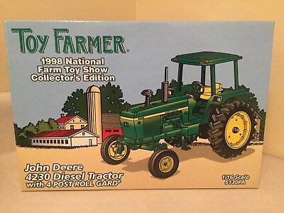 ERTL 1/16 JOHN DEERE 4230 TOY FARMER CE 1998 National Farm Toy Show TRACTOR