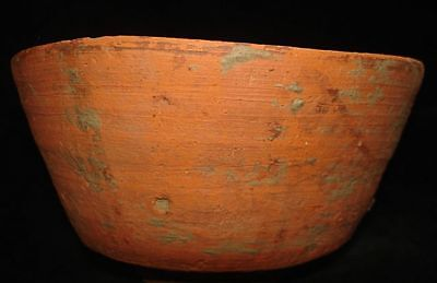 "AMAZING!   PAINTED ""TREE OF LIFE"" BOWL  5000 years old! 3000BC~~~no reserve"