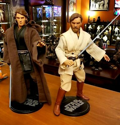Sideshow collectibles Anakin and Obiwan
