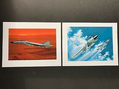 Lot Of 2 Mcdonnell Douglas Produced F-15 Eagle Drawings-Copies Of Drawings