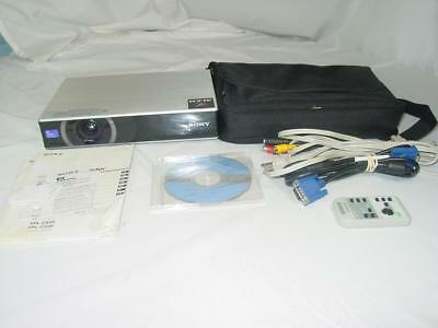 Sony VPL-CX20 - LCD projector - portable, Complete! Strong Bulb!