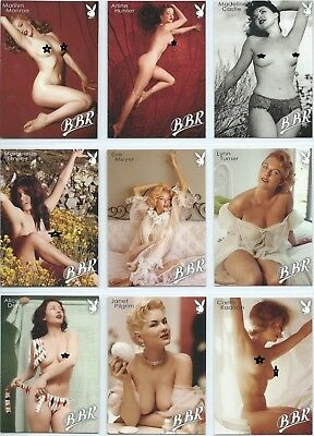 PLAYBOY BLONDES BRUNETTES REDHEADS (BBR)(2015)- 100 Card Base Set in Factory Box