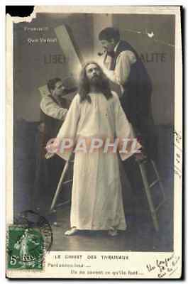 VINTAGE POSTCARD the Christ Of the Courts