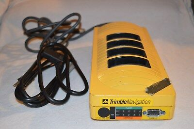 Trimble Navigation 20669-10 4-Bay Multi Battery Charger & Ac Power Supply