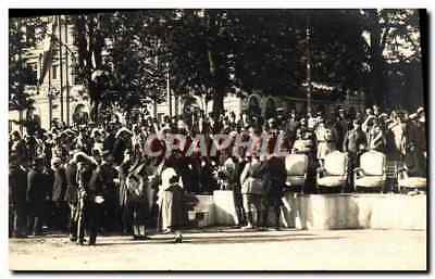 VINTAGE POSTCARD Fêtes of the Victoire July 14th, 1919 the official platform Mil
