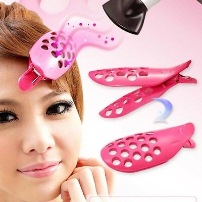 1pc Hair Fringe Clip Front Bangs Curler Roller Holder DIY Hair Styling Tool US
