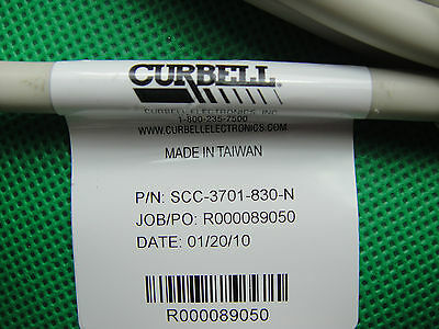 CURBELL GEN4 Sealed Call Cord Directions for USE SCC-3701-830-N 18 Pin 2x 9 Pin