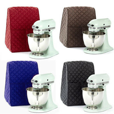 4 Colors Cloth Quilted Pocket Cover Home Dust For KitchenAid Durable Mixer Cover