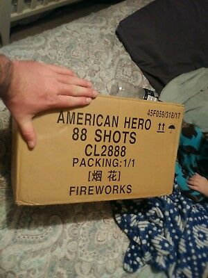Firework label 88 shot