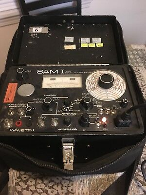 "Wavetek SAM I ""450"" Signal Analysis Meter 4-450MHz - Good Condition,"