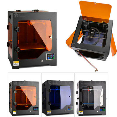 Desktop 3D Printer Kit 220*220*220mm Working Metal Frame Closed Door 1.75mm