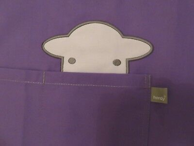 Herdy Peep Apron Purple new without packaging