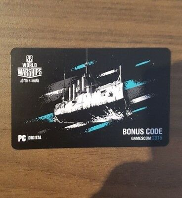WORLD OF WARSHIPS Bonuscode Emden WoWs WoT Wargaming Code Gamescom