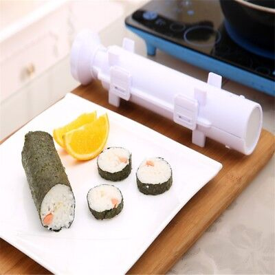 Bazooka Roller Kit All In 1 Sushi Rolls Maker Mold Making Tool Machine