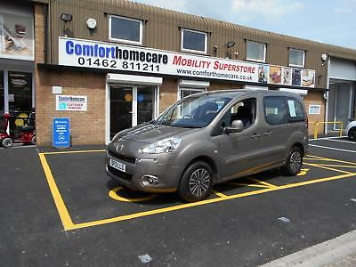 Peugeot Partner 1.6 ( 120bhp ) Tepee S WHEELCHAIR ACCESSIBLE VEHICLE