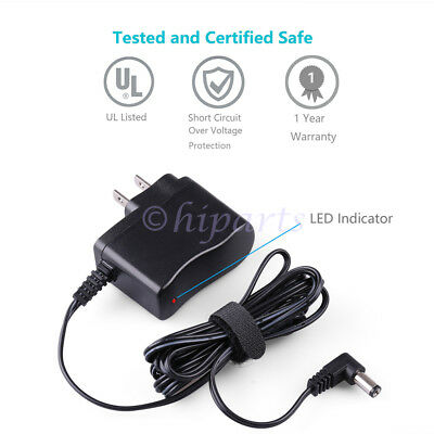 9V AC/DC Adapter fr TC Electronic Zoom Guitar Multi Effects pedal Casio keyboard