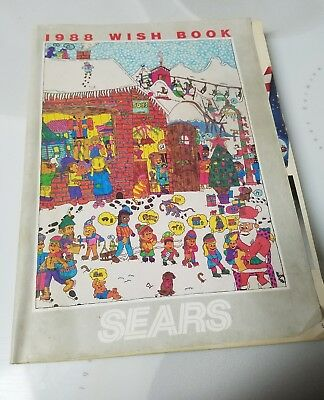 Buy It Now Vintage 1988 Wish Book Sears,christmas Catalog Games,toys,sports