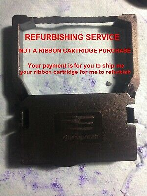 Stenograph or ProCAT ribbon cartridge refurbishing service. NOT A CARTRIDGE SALE