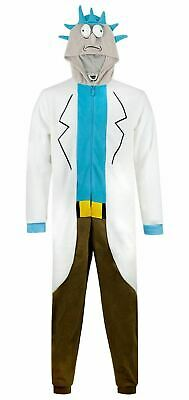 Rick and Morty Rick Sanchez Cosplay Costume All In One