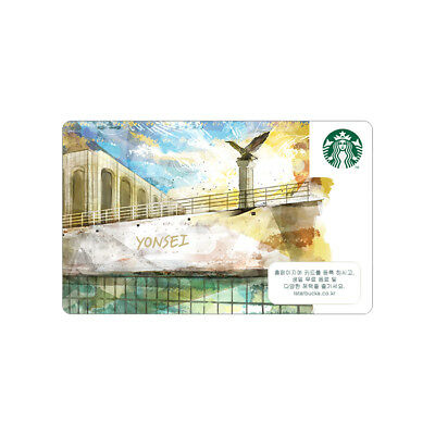 STARBUCKS KOREA 2018 Yonsei University Gift Card