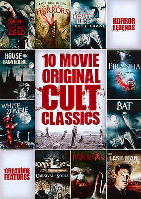 10-Film Horror Cult Classics Collection DVD