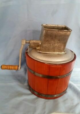 Vintage Alaska Ice Crusher Model 37 with Ice Bucket