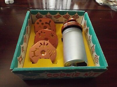 Vtg Mirro Dial A Cookie Cookie Press Kit With Box