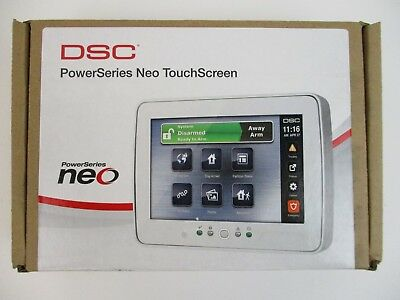 (New) Dsc Hs2Tchp - 7 Inch Touchscreen Alarm Keypad With Prox Support