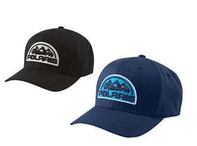New Polaris Patch Core Cap - L/XL - Blue or Black