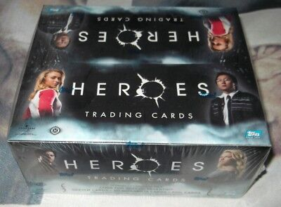 Topps HEROES Trading Cards box 24 packs/7 cards per pack