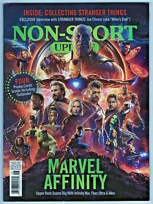 2018 Non Sport Update Magazine and Price Guide Vintage Hot Lists Stranger Things