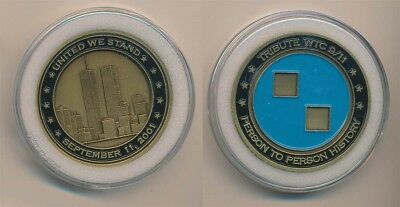 United State: 911 United We Stand Commemorative Medal, 45mm