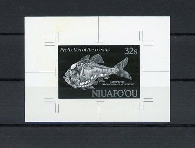 NIUAFOOU MONOCHROME PROOF PROTECT OCEAN HATCHET FISH ONLY 20 MADE !! RARE h1916