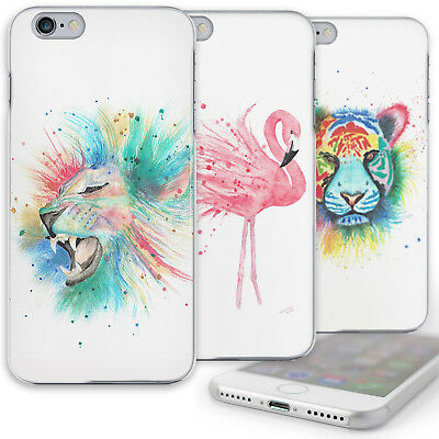 Multicolour Tiger Phone Case Cat Art Print Hard Cover For Huawei P20/Honor 10