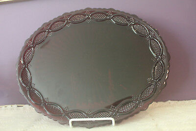 "Avon 1876 Ruby Red Cape Cod 13.5"" Serving Platter"