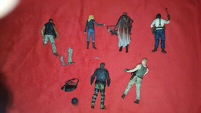 Walking dead action figure lot