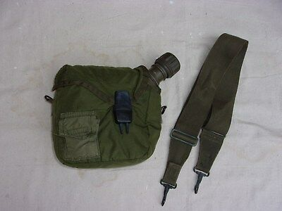 US GI M1967 2 Quart Canteen with Correct Nylon Cover--1968-69 Dates