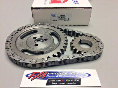 Small Block Chevy 283 350 327 Engine Timing Set Stock Replacement Melling 3-499S