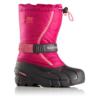 SOREL Children's Flurry Winter Boots | Pink Size 7 Girls | NEW NY1885