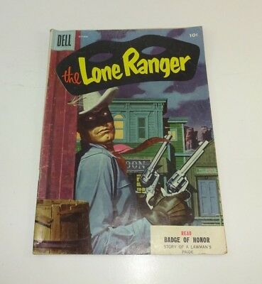 Vintage 10c Golden Age The Lone Ranger (Dell) Vol 1 #88 October Badge of Honor