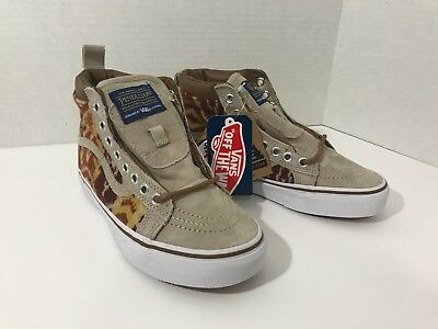 63d1483b50 New Vans SK8-Hi MTE Pendleton Tribal Tan Skate Shoes Unisex Men s 4 Women s  5.5