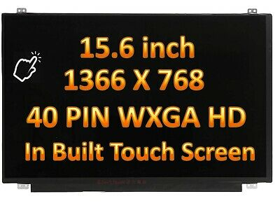 """HP 15-BS060WM 15-BS070WM LCD LED Touch Screen Assembly Replacement 15.6"""" HD WXGA"""