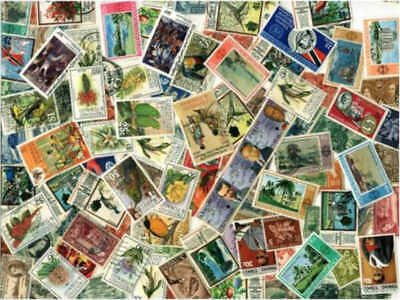 Trinidad & Tobago Stamp Collection - 100 Different Stamps