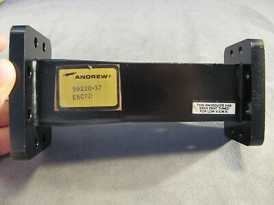 """Waveguide ANDREW C-band WR137 - WR159 Transition 6.00"""" CPRG on both ends <133>"""